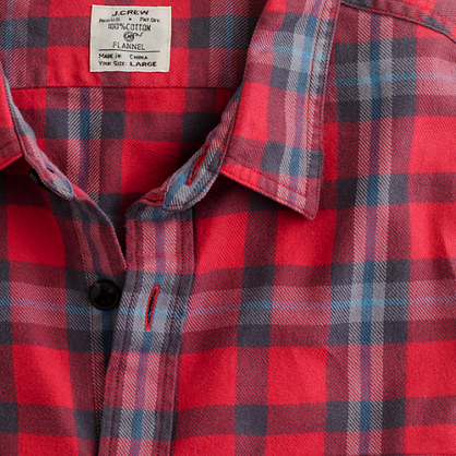 Vintage flannel shirt in Craigmont plaid