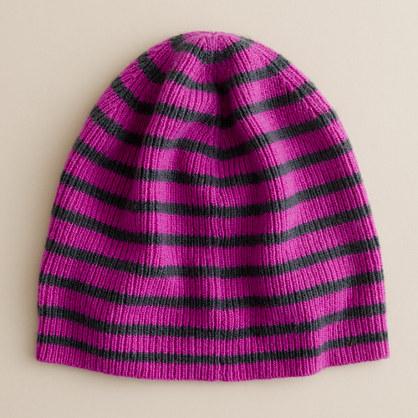 Girls' dream-stripe hat