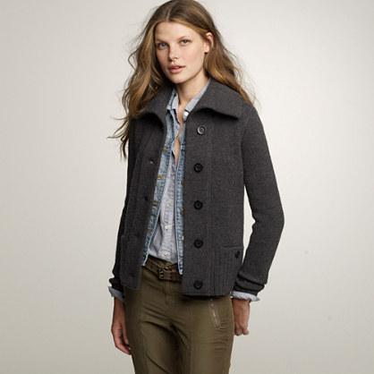Arrow sweater-jacket