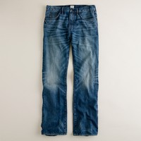 Bootcut jean in vintage worn wash