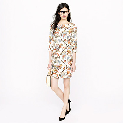 Collection Jules dress in botanical print