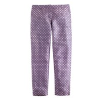 Collection café capri in purple tie silk