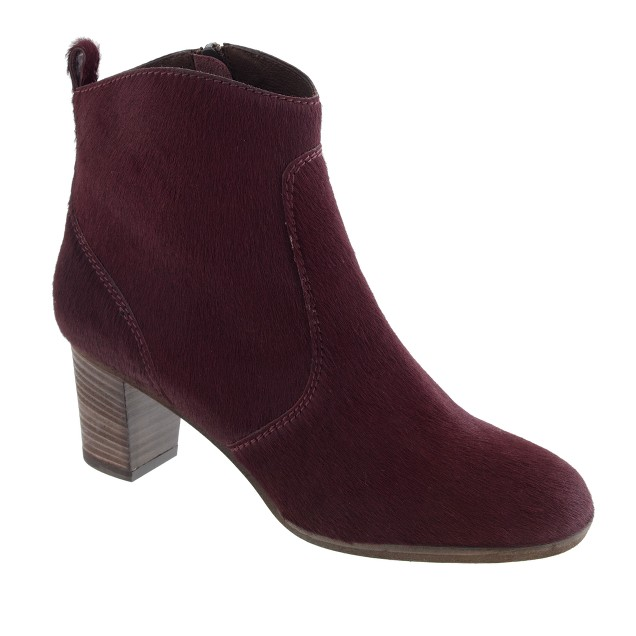 Collection Aggie ankle boots in pony hair