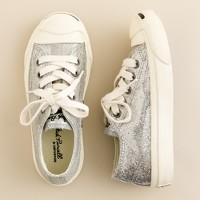 Girls' Converse® Jack Purcell® glitter sneakers