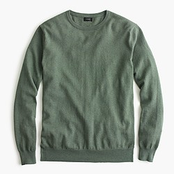 Cotton-cashmere crewneck sweater