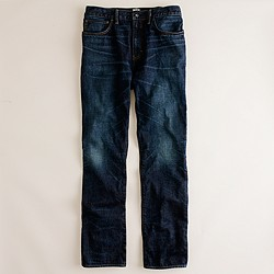 1040 slim-straight jean in dark worn wash