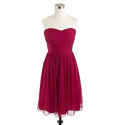 Arabelle dress in silk chiffon
