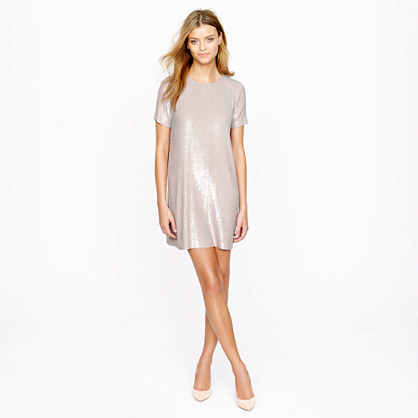 Collection knit sequin dress