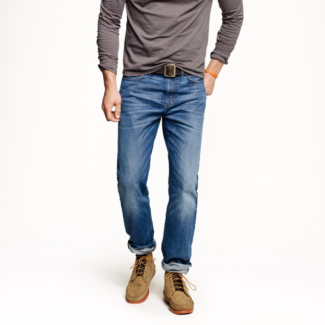 1040 Slim-straight jean in vintage worn wash
