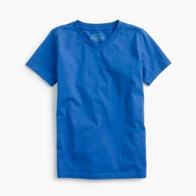 Boys' jersey V-neck T-shirt