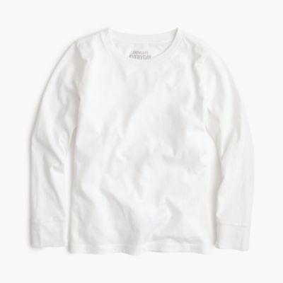 Boys' long-sleeve jersey T-shirt