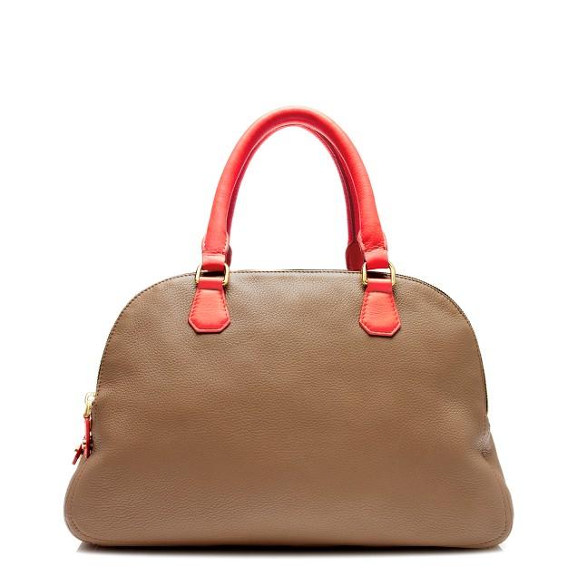 Biennial tricolore satchel