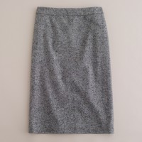 Starry Donegal tweed pencil skirt