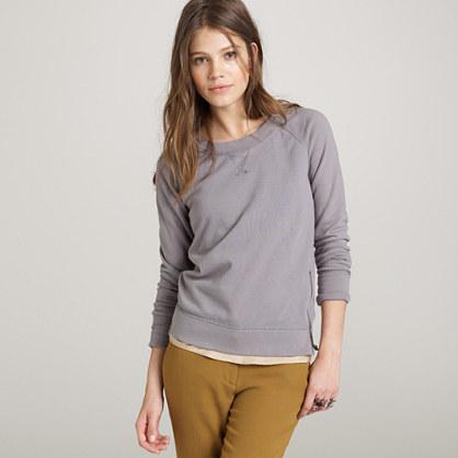 Zip-side sweatshirt