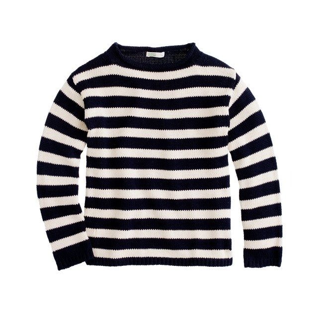 Boys' stripe rollneck™ sweater