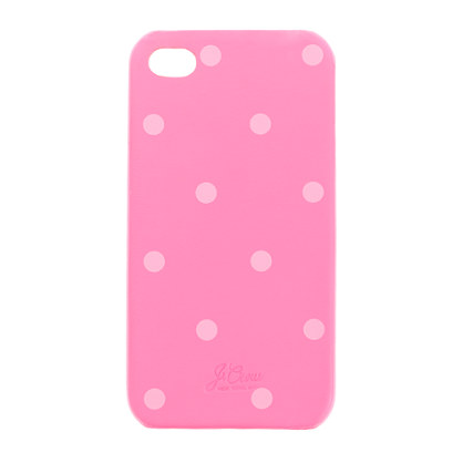 Dot leather case for iPhone 4