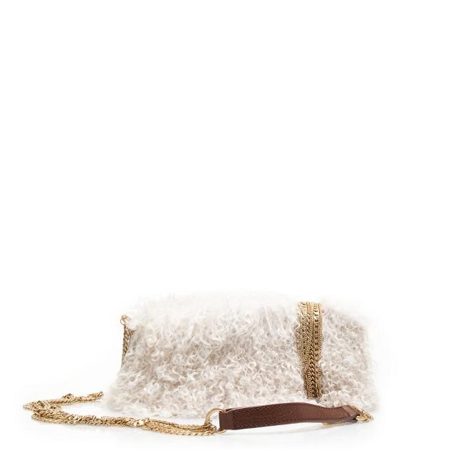 Mongolian lamb purse