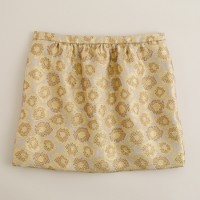 Goldenrod jacquard mini