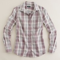 Tomboy plaid boy shirt
