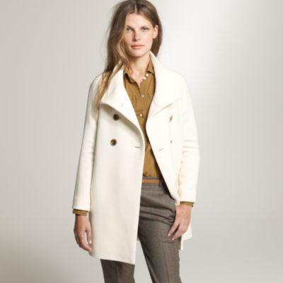 Double-cloth bonbon coat :