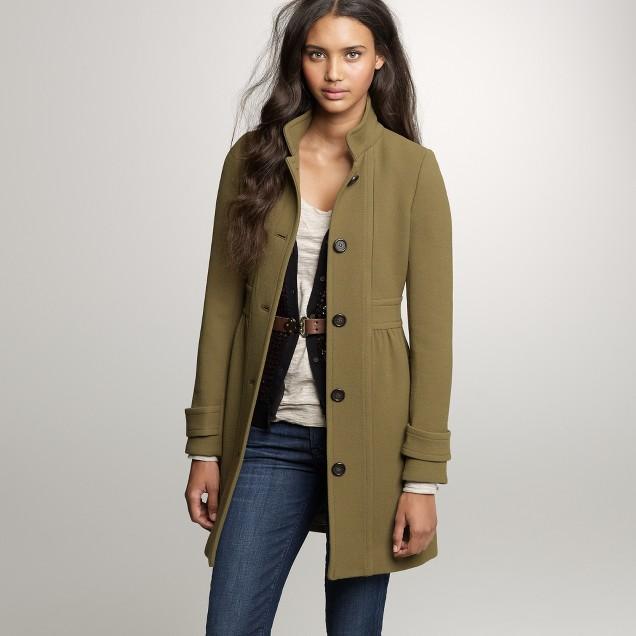Double-cloth Colletta coat