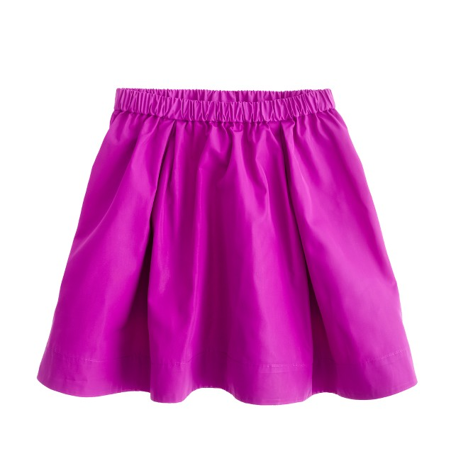 Girls' pull-on party skirt