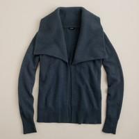 Dream open shawl-collar cardigan