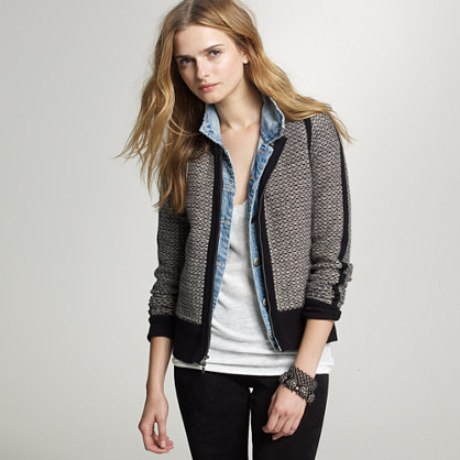 Dream tweed cardigan