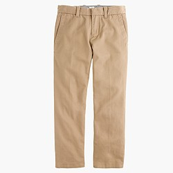 Boys' Bowery slim pant in cotton twill