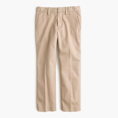 Boys' cotton twill Bowery pant in slim fit