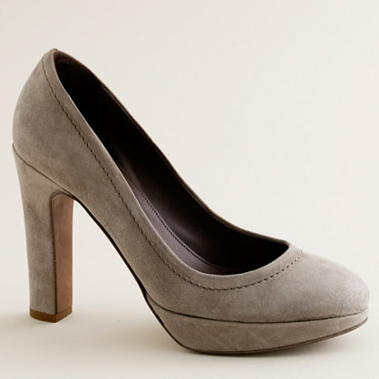 Coddington suede platform pumps