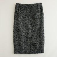 Notte tweed pencil skirt