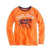 Boys' long-sleeve smilodon tee