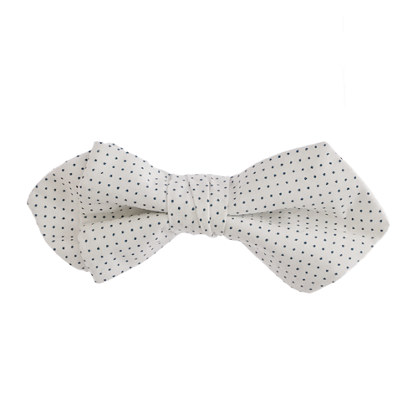 Boys' bow tie in pindot