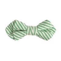 Boys' bow tie in seersucker