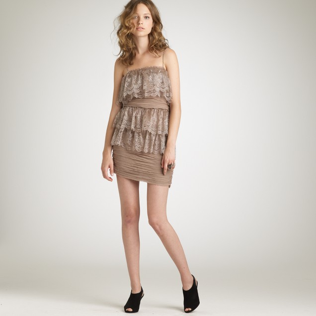 Shimmer Chantilly dress