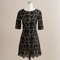 Elena lace shift dress