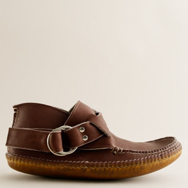 Quoddy® wool-lined ring boots with leather sole