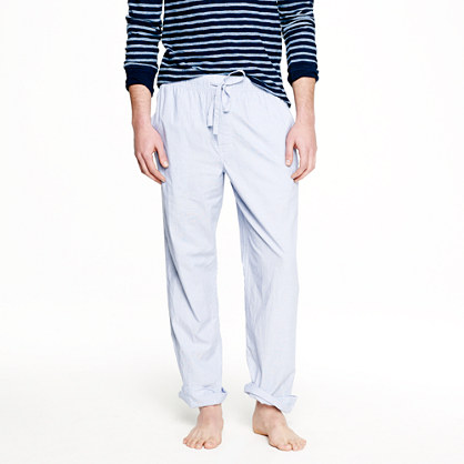 Classic end-on-end pajama pant