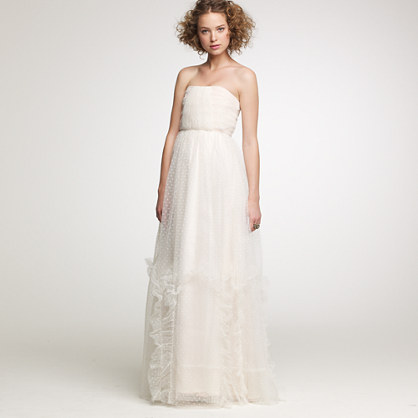 Layered tulle Lorna gown
