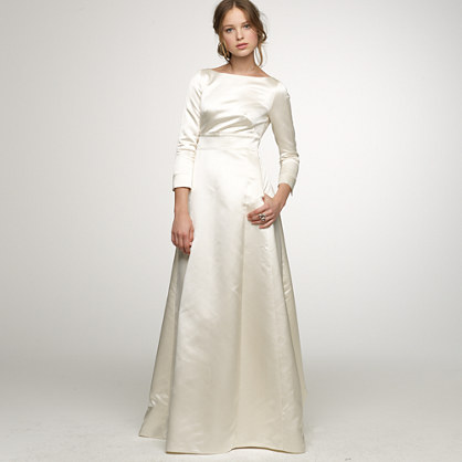 Duchesse Satin Noelle Gown For The Bride J Crew