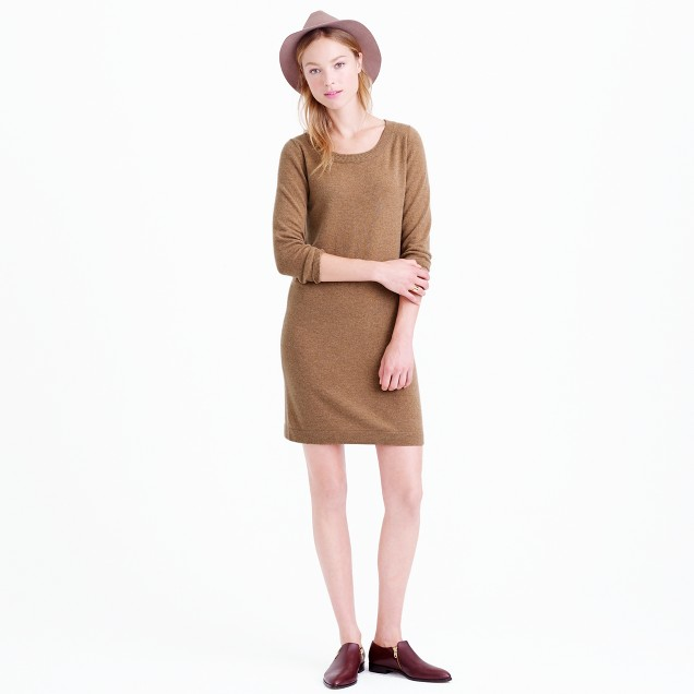Cashmere T-shirt dress