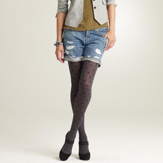 Polka-dot tights