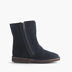 Girls' zip chalet boots
