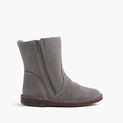 Girls' zip chalet boots