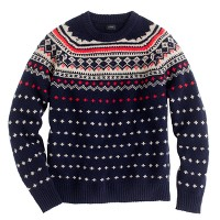 Lambswool Seaspey Fair Isle sweater