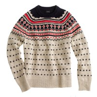 Lambswool Ayrshire Fair Isle sweater
