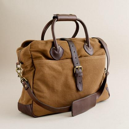 Rugged twill briefcase bag