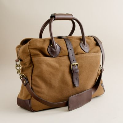 Charming Rugged Twill Briefcase Bag