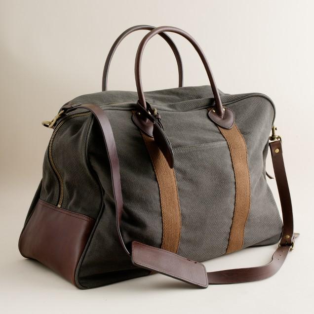 Rugged twill travel bag